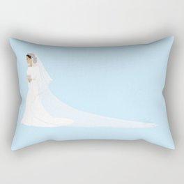 Royal Bride Rectangular Pillow