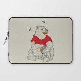Silly ol' Bear Laptop Sleeve