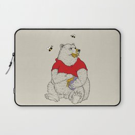 Silly ol' Bear Laptop Sleeve