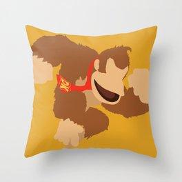 Donkey Kong(Smash) Throw Pillow