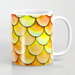 orange yellow mermaid tail Coffee Mug