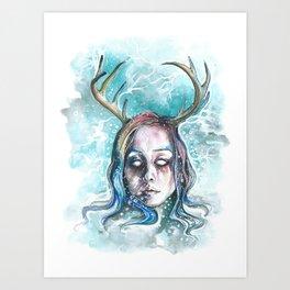 Strangely Christmasy Art Print
