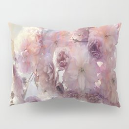 Vintage Beauty, Flower Blossoms Pillow Sham