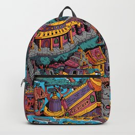 Mumbo Jumbo City (Color) Backpack