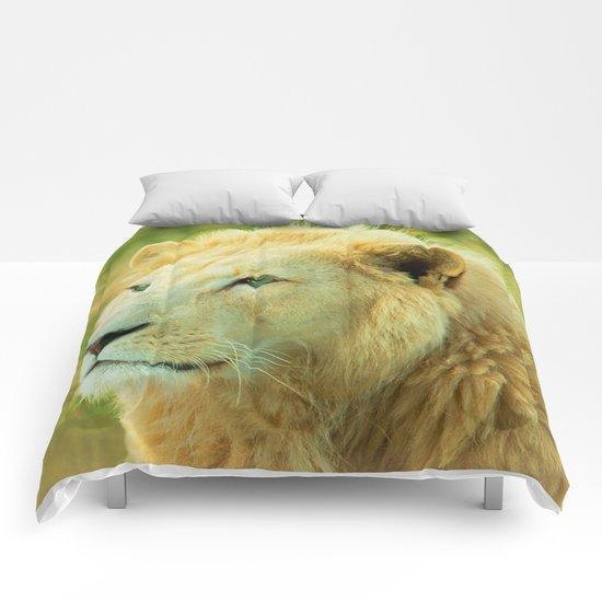 LION AROUND Comforters