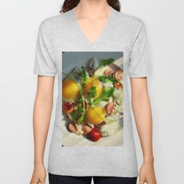 fried egg Unisex V-Neck