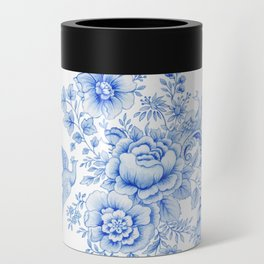 Blue asiatic pheasant Can Cooler