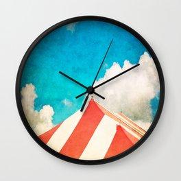 Under the Big Top Wall Clock
