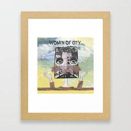 Women of City Colours Framed Art Print