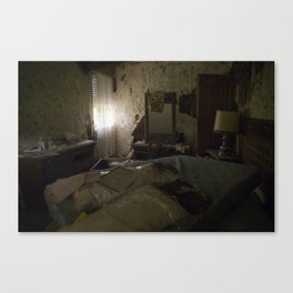 Abandoned room Canvas Print