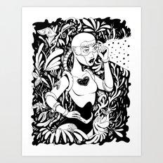 Lost on a Strange Planet Art Print