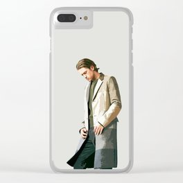 Aaron Tveit 25 Clear iPhone Case