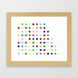 Amoxapine Framed Art Print