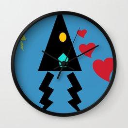 Love follows Wall Clock