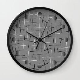 Croisement Grisgris Wall Clock