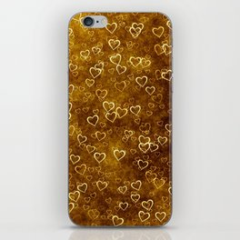 Vintage Hearts iPhone Skin