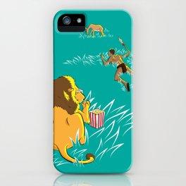 Popcorn Predator iPhone Case