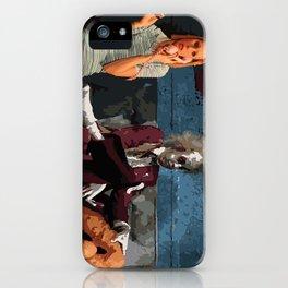 Waiting Room iPhone Case