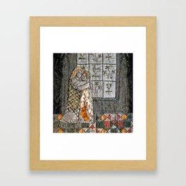 Golden couple Framed Art Print