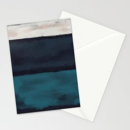 Rothko Inspired #17 Stationery Cards