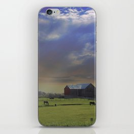 Down a Country Road iPhone Skin