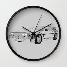 DeLorean DMC-12 Wall Clock