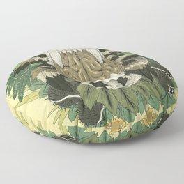 The Island of Dr. Moreau Floor Pillow