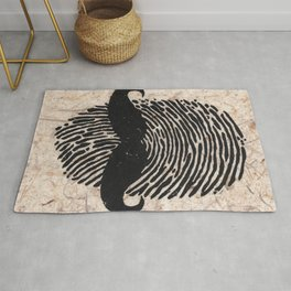 The Detectives Print Rug
