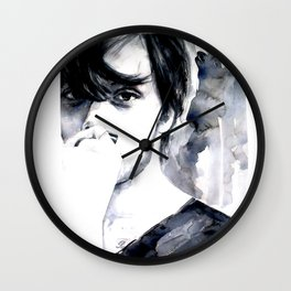 Light breathing by Anna Dart. Clement Louis.  Wall Clock