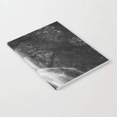 Waterfall in Hell Gorge, Slovenia Notebook