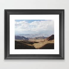 Lake Mead Framed Art Print