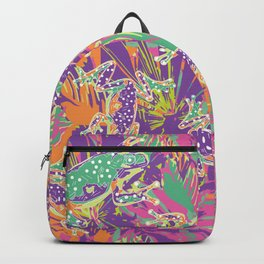 Tropical summer rainforest party Backpack