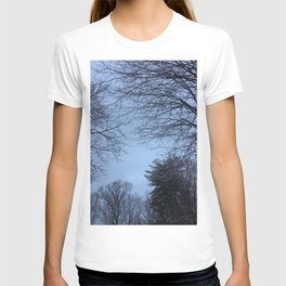 The Trees - Snowy & Blue T-shirt