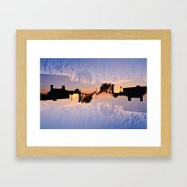 Factory and Reeds Framed Art Print