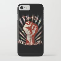 revolution iPhone & iPod Cases featuring Revolution by PsychoBudgie