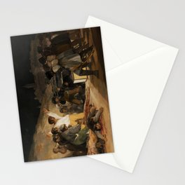 The Third of May by Francisco Goya Stationery Cards