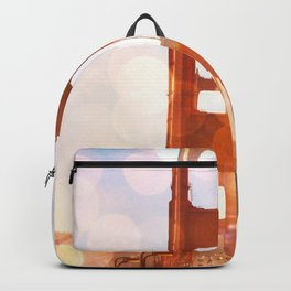 GOLDEN GATE BRIDGE - ABSTRACT Backpack