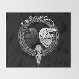 D&D - Raven Queen Throw Blanket