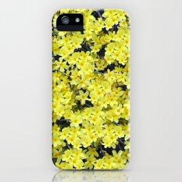 Happy Forsythia iPhone Case