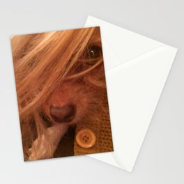 FARRAH MAiSEY (shelter pup) Stationery Cards