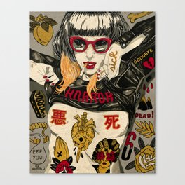 Horror Show Canvas Print