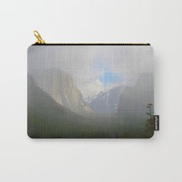 Fog Clearing at Yosemite Valley Carry-All Pouch
