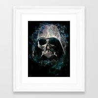 vader Framed Art Prints featuring Vader by Sirenphotos
