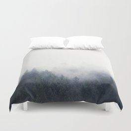 I Don't Give A Fog Duvet Cover