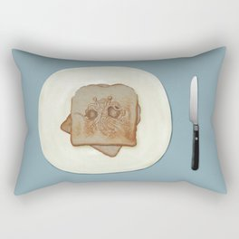 Blessed Noodley Appendages On Toast Rectangular Pillow