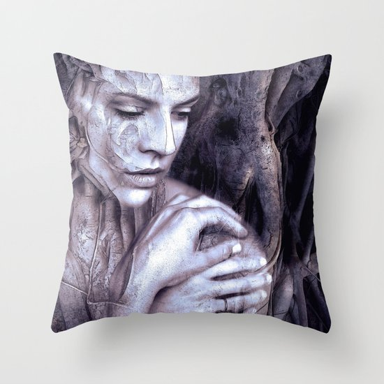 Within The Tree Throw Pillow