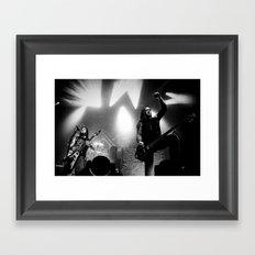 Machine Head Framed Art Print
