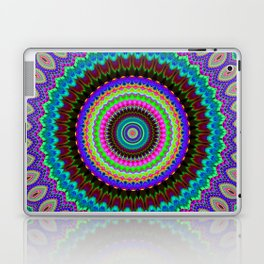 the dreamer Mandala Laptop & iPad Skin