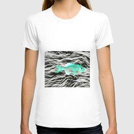 Fish on Fur V T-shirt