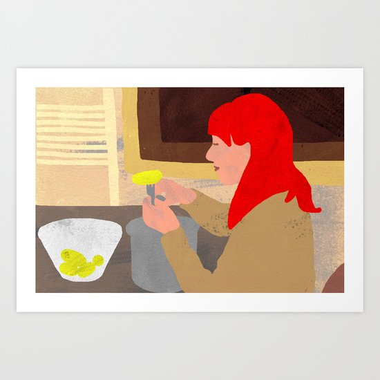 Concentration Art Print
